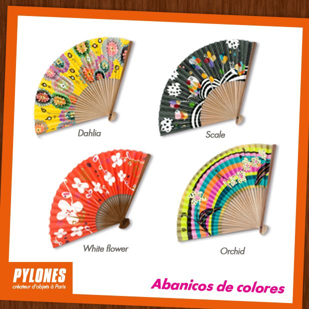 Abanicos de Colores. @pylonesco #pylonesco
