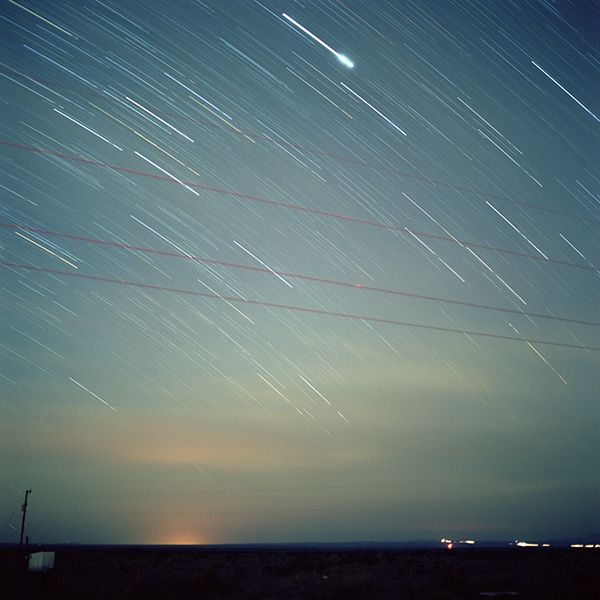 The Marfa Lights In Marfa, Texas--off Route 67. 10-20 sightings a year.  We went - we watched - no luck.