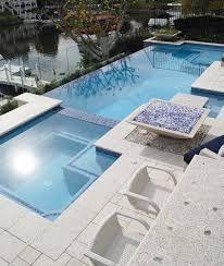 Image result for wet edge pool construction details