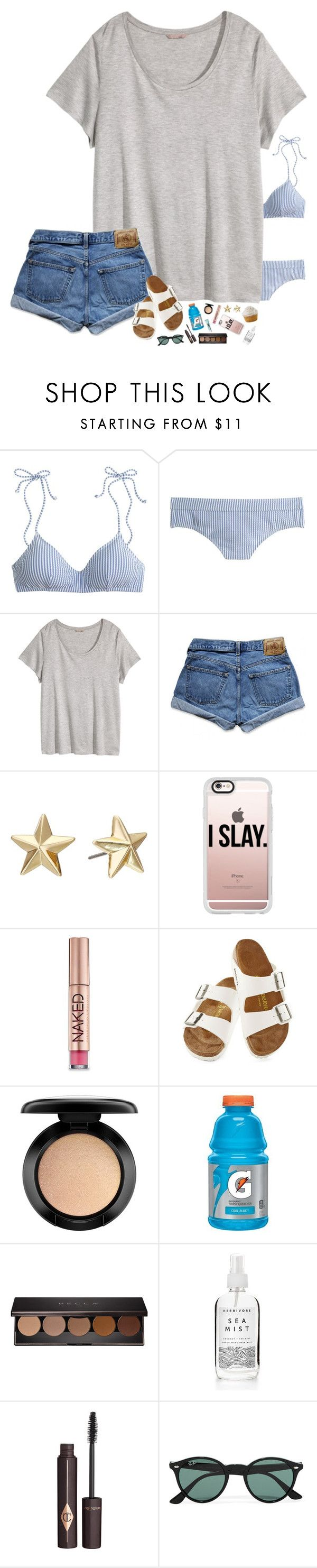 """""""GUYS WE'RE 7 AWAY FROM 1K!!!"""" by hopemarlee ❤ liked on Polyvore featuring J.Crew, H&M, Abercrombie & Fitch, Rebecca Minkoff, Casetify, Urban Decay, Birkenstock, MAC Cosmetics, Becca and Charlotte Tilbury"""