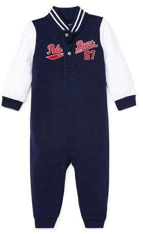 c14d2f4b8 Ralph Lauren Childrenswear Baseball Polo Bears Coverall