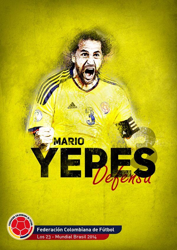 Selección Colombia, 2014 on Behance