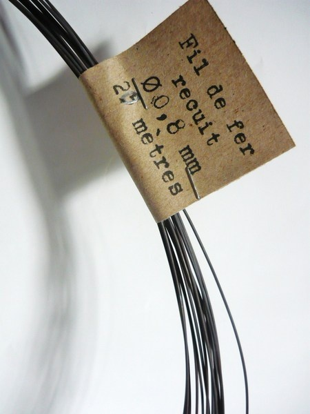 Bobine De Fil De Fer Recuit 0 8 Mm Wire Shadow Boxes Wire Work