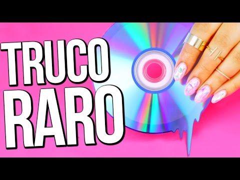 PINTA TUS UÑAS USANDO CDs! - YouTube