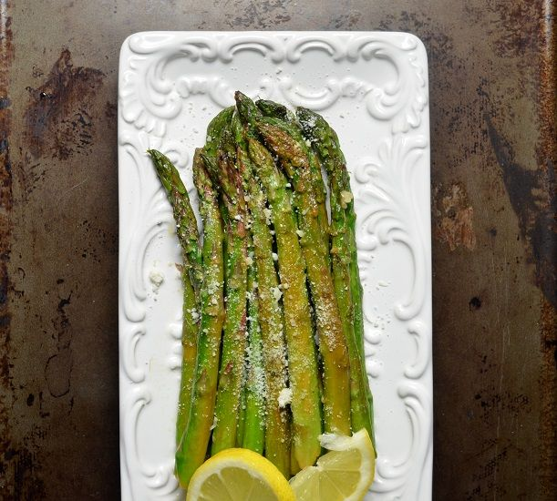 Sauteed Lemon Garlic Asparagus