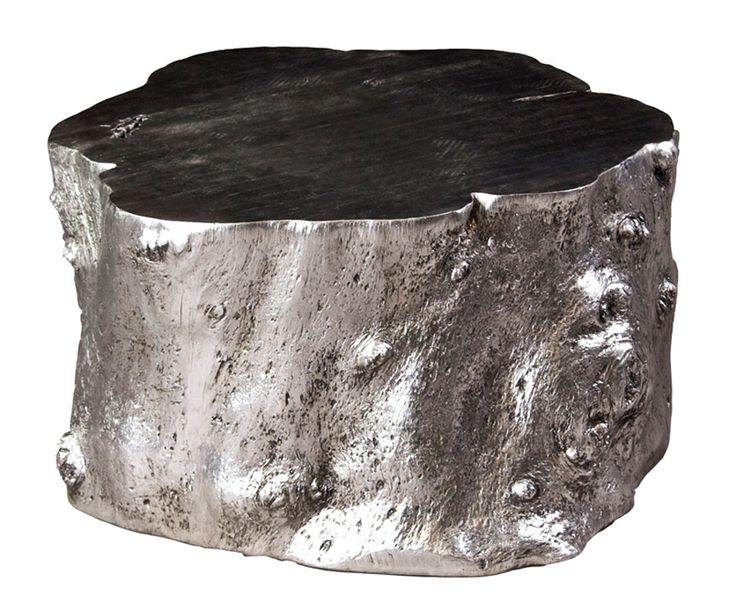 15 Best Images About Silver Tree Stump Table Project On