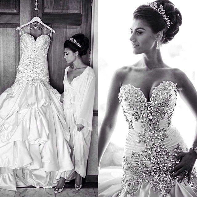 254 best instagram images on pinterest pnina tornai for Bling princess wedding dresses