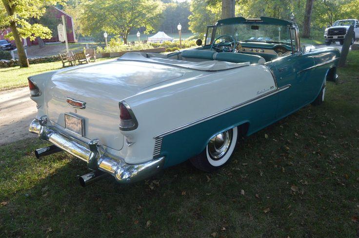 1955 Chevrolet Bel Air Convertible VI by Brooklyn47