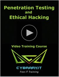 """""""Online Penetration Testing and Ethical Hacking - FREE Video Training Course"""" At the conclusion of this training course, you'll be able to create an effective vulnerability prevention strategy to prevent the attackers from entering your system. No longer will money have dominion over our ability to learn. Anyone who wants to become a penetration tester, now has the opportunity to learn to do so with this free course."""