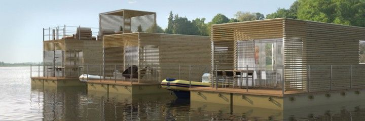 Christian Grande launches new concept of floating villas Abifloat
