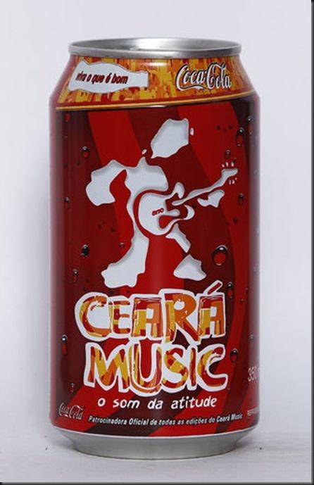 2005 Ceará Music Festival Coca-Cola Brasil limited edition