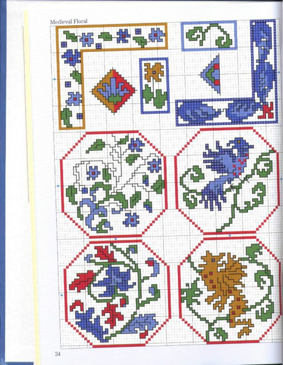 Gallery.ru / Фото #29 - 500 Cross Stitch Blocks - thabiti