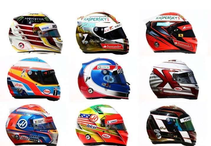 Пилоты снова могут менять дизайн шлема  https://race24.ru/news/f1/2006/