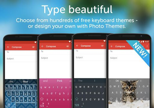SwiftKey Keyboard v6.7.3.28 Final   SwiftKey Keyboard v6.7.3.28 Final Requirements:4.1 Overview:SwiftKey Keyboard uses Artificial Intelligence to automatically learn your writing style including the emoji you love to use (if you use emoji) the words that matter to you and how you like to type.  Description Upgrade your phones keyboard to SwiftKey Keyboard for free - and get more done without fussing over typos. Join over 250 million people worldwide who use SwiftKey Keyboard for hassle-free…