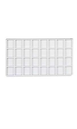 32 Section Plastic Tray Inserts