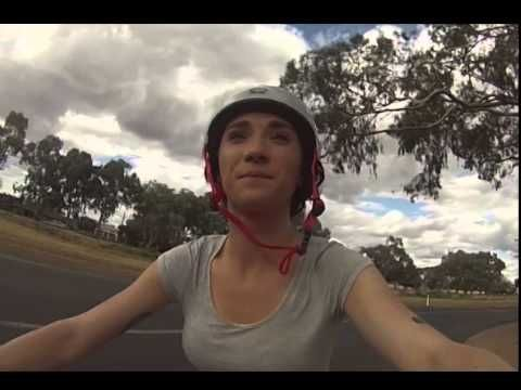This Radio Host Put Fake Eyes On Her Bike Helmet To Keep Magpies Away. It Didn't Work.
