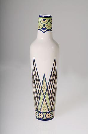 Fennia, Arabia earthenware vase, Finland, ca. 1902