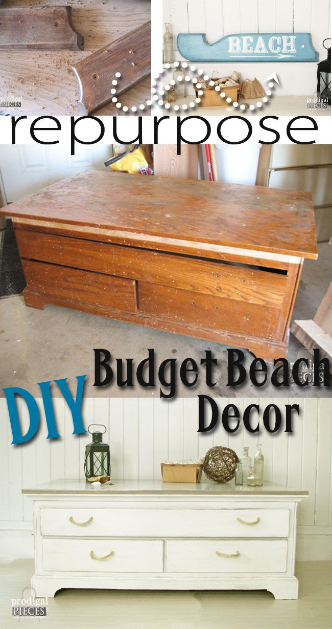 diy furniture refinishing projects. Beach Decor On A Budget. Refurbished FurnitureFurniture RefinishingFurniture ProjectsFurniture Diy Furniture Refinishing Projects