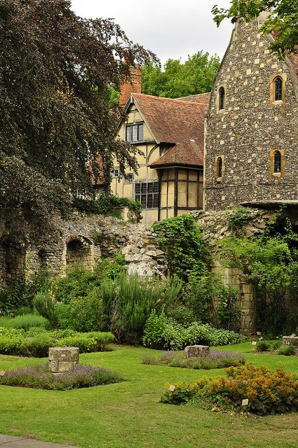 Canterbury Cathedral Precincts by Colin'sPic's, via Flickr