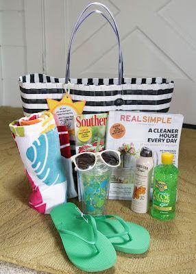 Teacher appreciation gift! Summer gift bag!