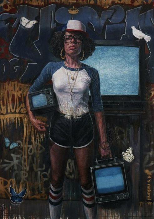 AphroChic: Tim Okamura's Soulful City Girls