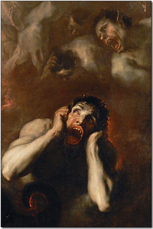 Luca Giordano, Fall of the Rebel Angels