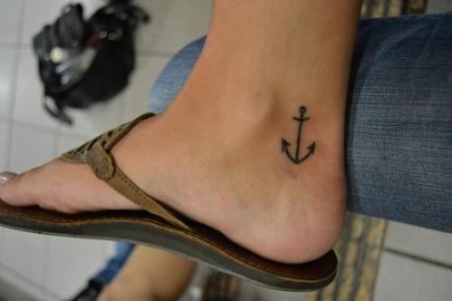 Anchor on feet