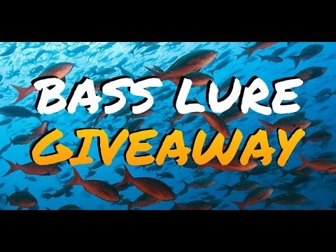 How to Get FREE Fishing Gear - BIG BASS BAIT & LURE GIVEAWAY