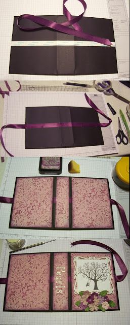 The Art, The Process, and a Story: Tutorial - Envelope Punch Board File Folder Album