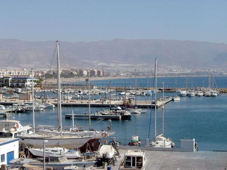 Roquetas port ***photo: Robert Bovington #Roquetas de Mar article: http://www.unique-almeria.com/roquetas-de-mar.html #Spain #travel #Robert_Bovington #Roquetas