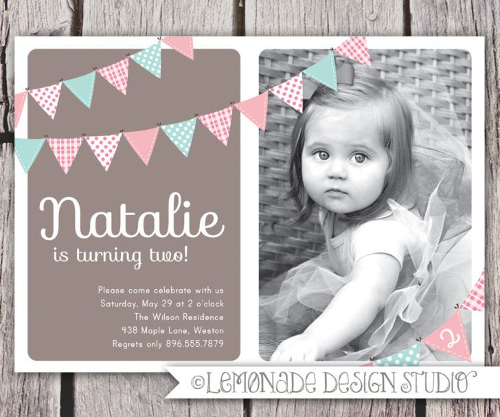 Best Birthday Invitations Images On Pinterest Birthday - Birthday invitation templates for 1 year old