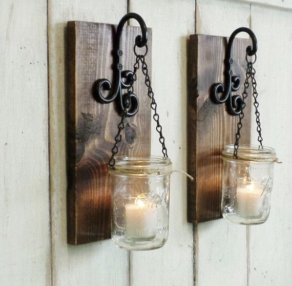 How High To Hang Candle Wall Sconces : Best 25+ Candle wall decor ideas on Pinterest Rustic wall mirrors, Rustic mirrors and Rustic ...