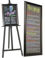Illuminated Restaurant Menu Boards