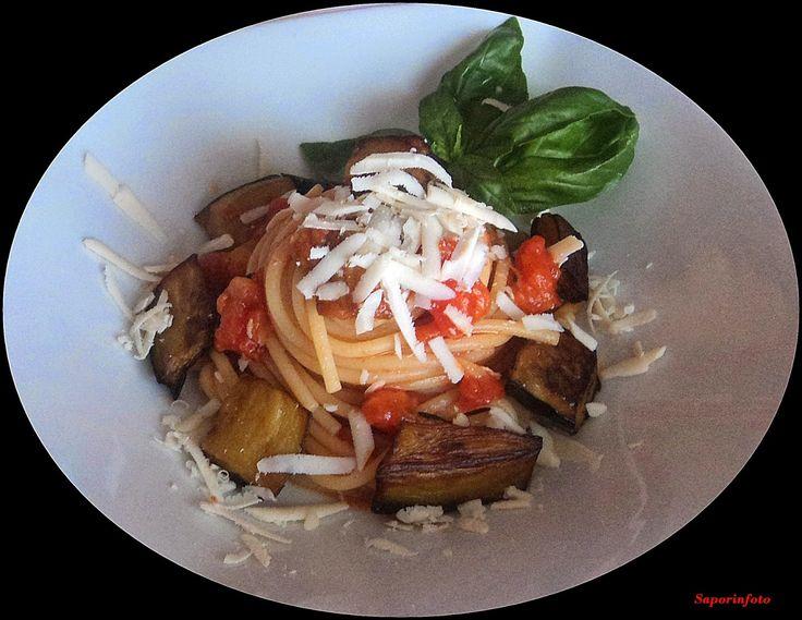 SaporInfoto: Spaghettoni alla Norma