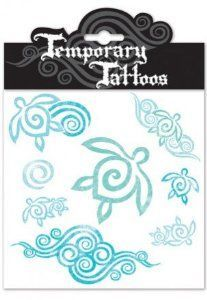 Honu Swirl Temporary Tattoos by tikimaster. $5.99. Wear this Honu Swirl Temporary Tattoo as a sign of long life. The Honu, or Hawaiian sea turtle is the Hawaiian symbol for longevity, peace, humility and the spirit within. Experience all the fun with non commitment Hawaiiana temporary tattoos. These tattoos are great for events, parties or gifts. It is safe, non-toxic, and FDA approved. Easy to apply and remove. Temporary tattoos are waterproof. Each package contains 1 sheet... #hawaiiantattoos