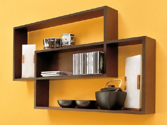 1000 ideas about wall mounted shelves on pinterest wall. Black Bedroom Furniture Sets. Home Design Ideas