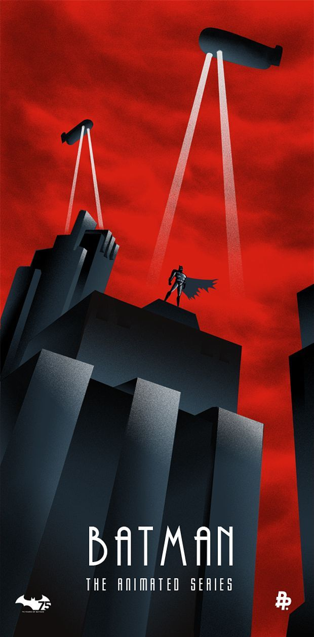 Batman 75th Anniversary artwork.