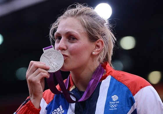 Women's Judo – 78kg:  Team GB's 2012 13th Olympic medal was a Silver won by: Gemma Gibbons on Thursday 2nd August 2012 at ExCel, Docklands in East London.