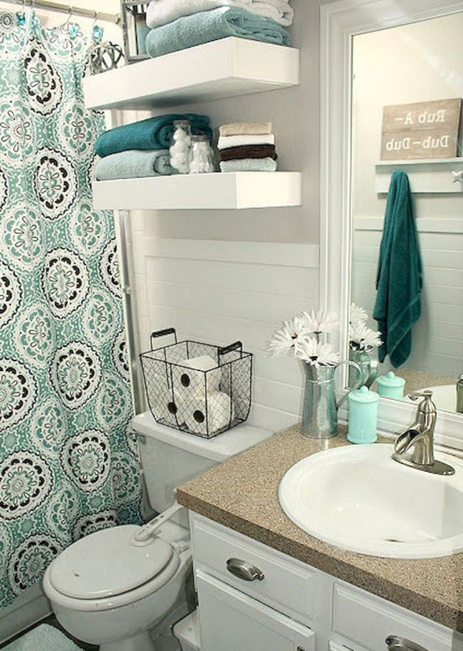 First Apartment Decorating Ideas On A Budget 35 Small Bathroom Decor Diy Small Apartment Diy Apartment Decor
