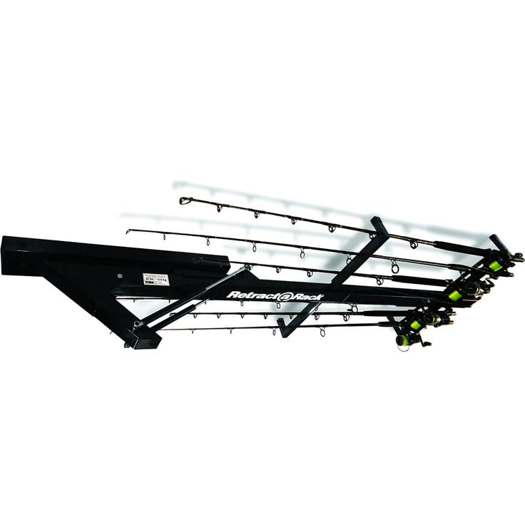 This Garage Sports Organizer Is Designed To Store Fishing Poles Snowboards And Other Equipment On The