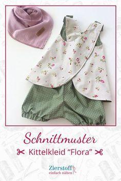 "Kittelkleid / Schürzenkleid ""FLORA"", Gr. 110 – 152 [Digital]"
