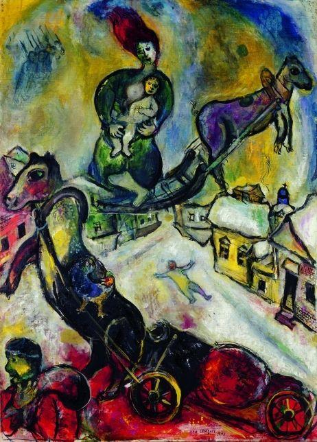 Marc Chagall, La guerre on ArtStack #marc-chagall #art
