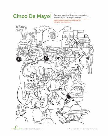 Cinco De Mayo Find It General Culture Cinco De Mayo