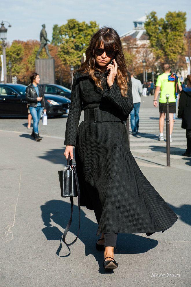Уличная мода: Уличный стиль недели моды в Париже сезона весна-лето 2016