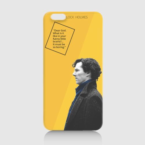 Sherlock Holmes Quote d by Belel Shop. Yellow case with Benedicth Cumberbatch with sherlock holmes quotes print, made from good material, this yellow case is also available for iPhone 4S, 5/5S, 6, 6+, Redmi Xiaomi 1S, Redmi Xiaomi Note, Samsung Galaxy Note 2, 3, Samsung Galaxy S3, S4, S5, Samsung Galaxy Grand. http://www.zocko.com/z/JJ8iC