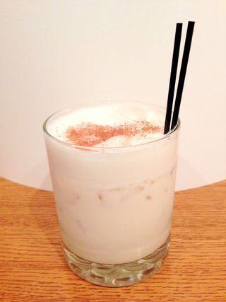 Bourbon Milk Punch | Boozy Creamy Cocktails & Shakes | Pinterest