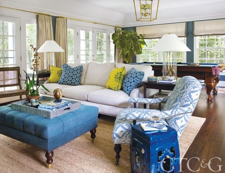 Henry & Co. Brings Youthful Freshness to a Traditional Darien Home - Connecticut Cottages & Gardens - February 2017 - Connecticut