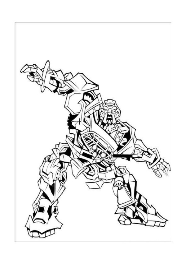 transformer 3 coloring pages - photo#10