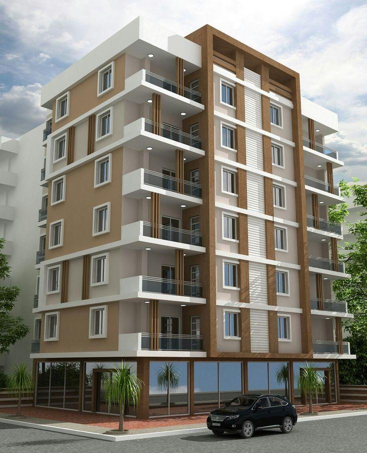 Mejores 37 im genes de edificios en pinterest fachada for Fachadas apartamentos modernos