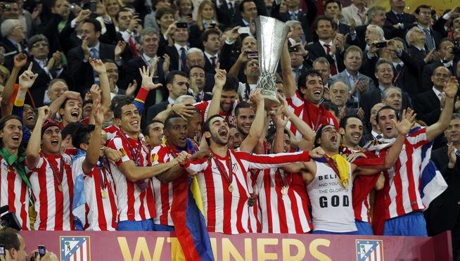 El Atlético logra su segunda Europa League